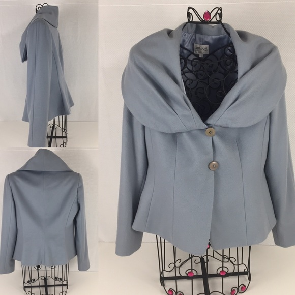 f6e974cd1a86 Armani Collezioni Jackets & Coats | Womens Cashmere Jacket Size 12 ...